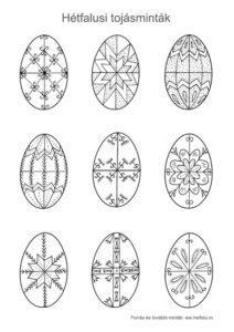 húsvéti tojásmotívum